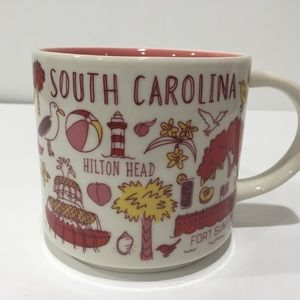 Starbucks South Carolina Been There Coffee Mug